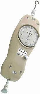 Shimpo MF-100 Peak Hold Analog Mechanical Force Gauge, 0.5 lbs Graduation, 100 lbs Range