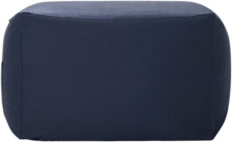 Precio al por mayor y calidad confiable. TongN-Sillones Bolsa de Frijol Simple Tatami Lazy Sofá Sofá Sofá Sencilla Silla de Alta Elasticidad Dormitorio Sala de EEstrella Cojín de Ocio Extraíble y Lavable 65 × 65 × 43 cm (Color   Navy)  compra en línea hoy
