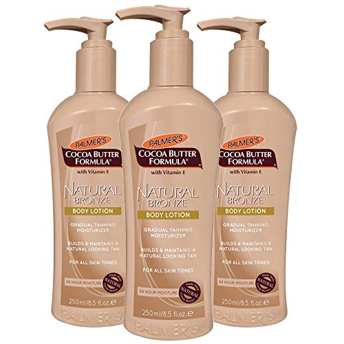 Palmer's Cocoa Butter Formula with Vitamin E, Natural Bronze Body Lotion, 8.5-Ounce Bottles (Pack of 3) by Palmer's [Beauty] (English Manual)
