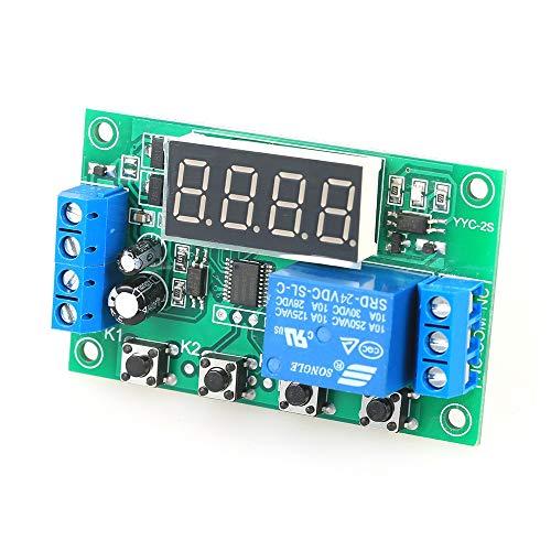 CXMY Tablero de relé Ajustable Junta Interruptor del retardo LED Módulo de relé de retardo del Temporizador de Control DC 12V 5A para Control de automatización.
