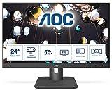 Monitor AOC 24''24E1Q IPS 16:9,5MS,VGA,Display Port,HDMI,SP