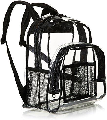Amazon Basics Stadium Approved Mini Transparent Backpack Bag Clear product image