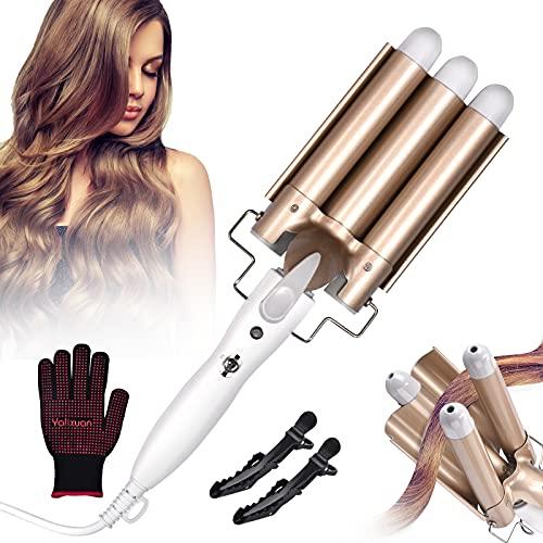 guanti lunghi bianchi Piastra Capelli Onde Guanto Resistente al Calore