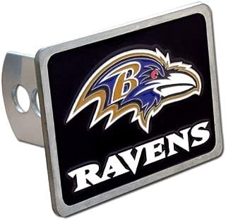 Siskiyou Baltimore Ravens NFL Hitch Cover, Class II & III