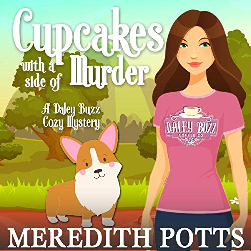 Cupcakes with a Side of Murder audiobook cover art
