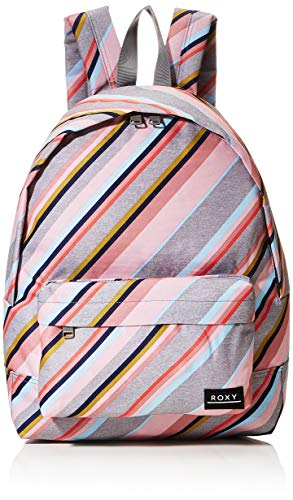 ROXY Womens Sugar Baby Printed Backpack, Heritage Heather Oriental STRI, Medium