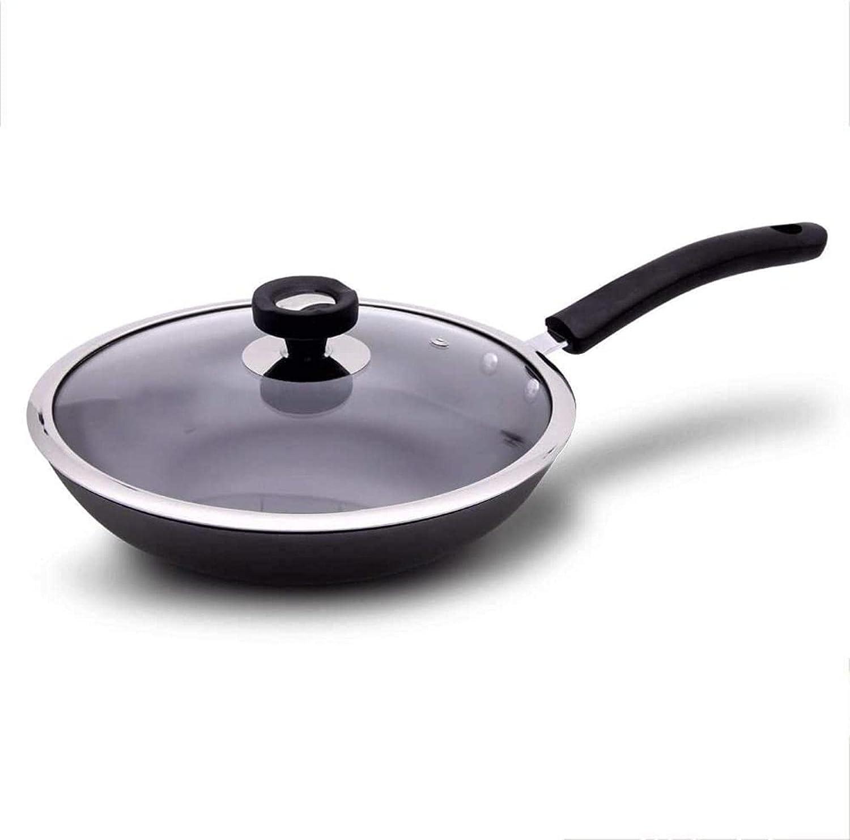 YONGYONGCHONG Topics on Seasonal Wrap Introduction TV Wok Pan Kitchen pan carbon cover wo steel and pot