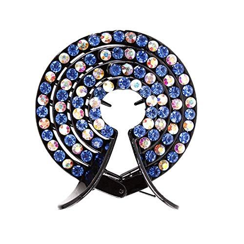Lurrose 5pcs Cristal Clips de Griffe de Cheveux Millésime Aucun Glissement Pince de Queue de Cheval Porte-Cheveux Accessoires pour Femmes Filles