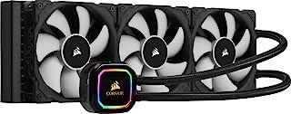مبرد وحدة المعالجة المركزية سائل iCUE H150i PRO XT RGB (مبرد360 ملم،3 مراوحPWM سلسلةML مقاس 120ملم، 400 الى 2400 دورة في ا...