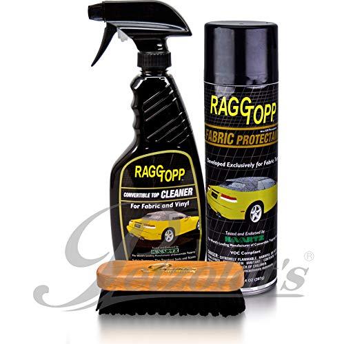 Raggtopp Cabrio Stoffverdeck-Pflegeset, Reiniger Imprägnierung Verdeckreiniger