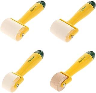 60mm nobrands Roller-DIY Prensa de Cuero Rodillo de Borde Rueda rodante de Cuero Laminado con Pegamento para Herramienta de Rollo