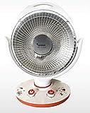 takestop® Estufa eléctrica de fibra de carbono, portátil, ligera y calefactable.