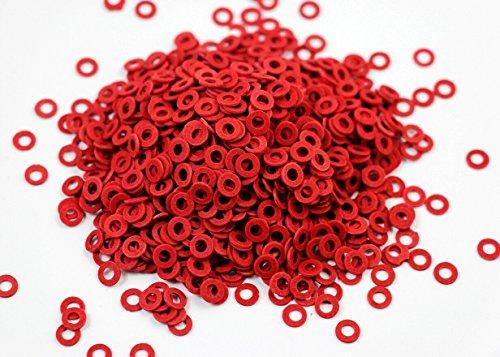 CHENGYIDA 10000 Stuks Rood Kleur PC Moederbord Schroef Isolerende Fiber Washers