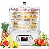 Best Meat Dehydrators - 6 Trays Electric Round Food Dehydrator Machine, 400W Review