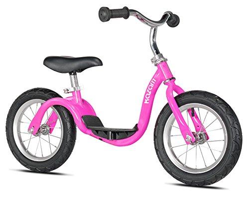 Kazam Kids, BiciclettaSenza Pedali N. KZ2, Colore Rosa, dai 2ai 5Anni