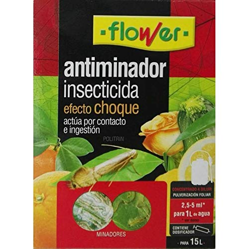Flower Antiminador insecticida Efecto Choque 50 ml