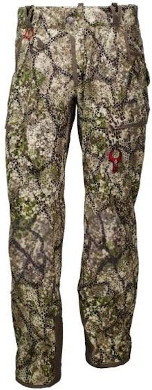 Badlands Ion Water Resistant Unlined Softshell Hunting Pant with Articulated Knees  Approach Camo
