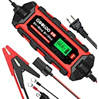 GOOLOO S10 6/12V 10-Amp Smart Battery Charger and Maintainer