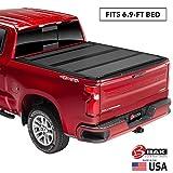 BAK BAKFlip MX4 Hard Folding Truck Bed Tonneau Cover | 448133 | Fits 2020 GM Silverado, Sierra 2500, 3500 6'9' Bed