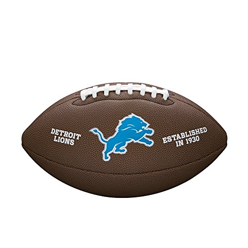 WILSON NFL Team Logo Composite Fußball, Detroit Lions, Official