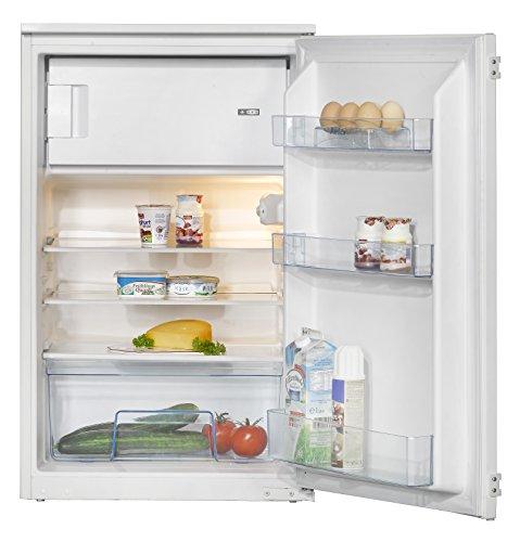 Amica EKS 16171 Kühlschrank / A++ / 87,5 cm Höhe / 146 kWh/Jahr / 105 L Kühlteil / 17 L Gefrierteil / AntiBacteria Beschichtung für optimale Hygiene / Wechselbarer Türanschlag
