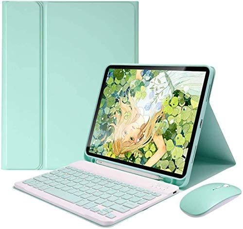 iPad Air 4 Gen 10 9 inch 2020 Keyboard Case Mouse Detachable Wireless Bluetooth Keyboard Pencil product image