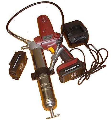 AGRITEK Pistola de Grasa engrasadora inalambrica electrica a baterias de Li-Ion.