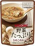 野菜たっぷりきのこのスープ