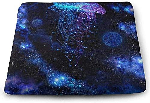 N/A Kosmische Galaxy onder zee oceaan kwallen zitkussen auto stoel kussens te verhogen hoogte bureaustoel comfort kussen stoel geheugen schuim pad voor lage rugpijn
