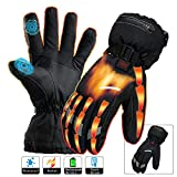 Heated Gloves Men Women Electric Rechargeable Battery...