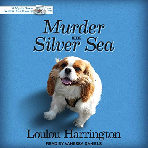 Murder on a Silver Sea audiobook cover art
