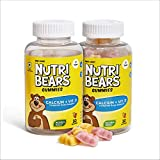 Nutribears Calcium + Vitamin D Gummies for Kids - For Stronger Bones