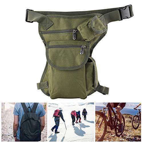 Riñonera para exteriores impermeable y duradera riñonera ligera, para hombres y mujeres, para pesca, viajes, ciclismo, esquí(ArmyGreen)