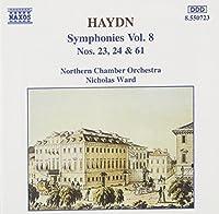 Haydn: Symphonies Vol. 8, Nos. 23, 24 & 61 (1994-10-04)