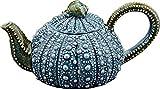 "Blue Sky Ceramic Urchin Teapot, 10.5"" x 6"" x 5"", Blue"