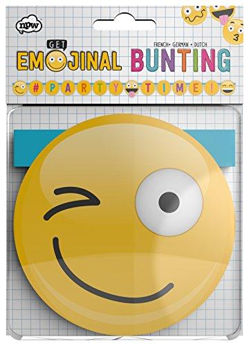 npw Emoticon Verjaardag Party Wimpelketting – vlaggen Get emojinal