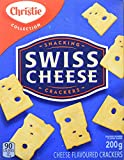 Christie Swiss Cheese Crackers, 200g/7.1oz., 6ct, {Imported from Canada}