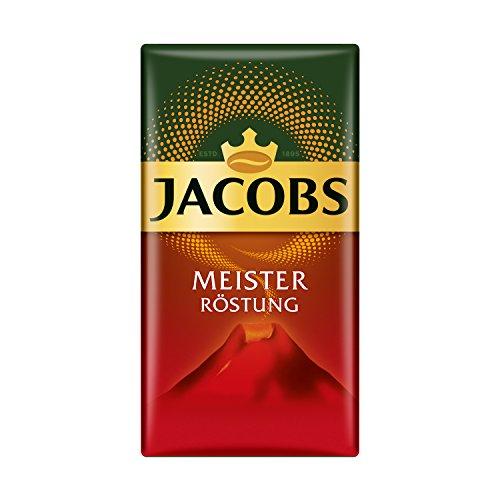 Jacobs Filterkaffee Meisterröstung, 12er Pack, 12 x 500 g gemahlener Kaffee