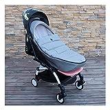 MAOSF Fußsäcke Fußsack Universal-Anschluss for Kinderwägen Spaziergänger Prams Buggys Baby-Jogger, 94cm (Color : Gray)