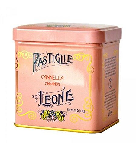 Pastiglie Leone - Pastillen mit Zimt in Vintage Metalldose 130gr