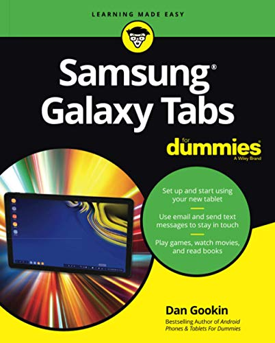 Samsung Galaxy Tab For Dummies (For Dummies (Computer/Tech))
