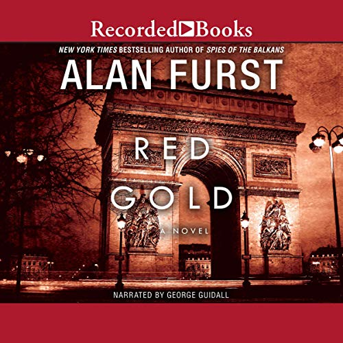 Red Gold audiobook cover art