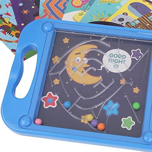 Jacksing Beads Maze Game, Alivio del estrés Interesante Beads Maze Toy, para Adultos, niños Mayores de 3 años(777-522)