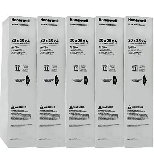 Honeywell FC100A1037-5 20' x 25' Merv 11 Filter Media (Pack of 5)