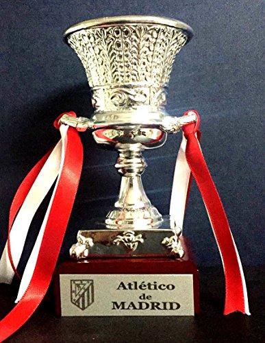 Trofeo SuperCopa Atletico de Madrid Replica 15cm GRABADO Trofeos PERSONALIZADOS Futbol coleccionistas...