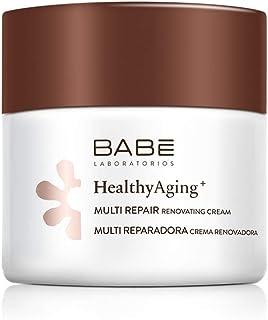 Laboratorios Babé - Multi Reparadora | HealthyAging+ | Crema Facial Hidratante De Noche Renovadora 50 ml | Nutritiva | Reg...