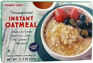 Best trader joe's unsweetened instant oatmeal gluten free Reviews