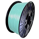 DDDMATERIAL himmelblaues PLA Filament - Made in Germany - 1,75 mm (+/- 0,05 mm) 1kg Himmelblau Blau Hellblau 3D Drucker Material 3D Stift