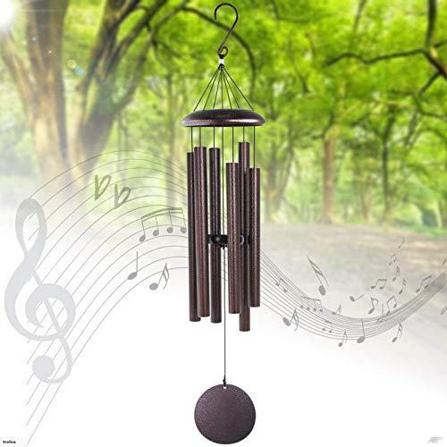 Trofou 90CM Carillon à Vent pour Jardin Maison Décoration d'extérieur/Collection de Musique Mondiale/Haute Qualité (Type 3)