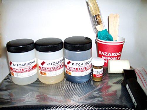 Kit Iniciación de Forrado en Fibra de Carbono Carbono/Kevlar 3k Kitcarbono Composites